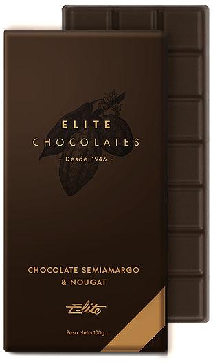 Chocolate Semiamargo & Nougat