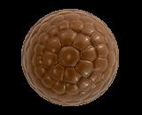 Frambuesa en chocolate con leche